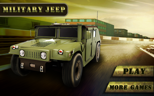 Army Jeep parking 3d