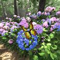 紫陽花の小道360°