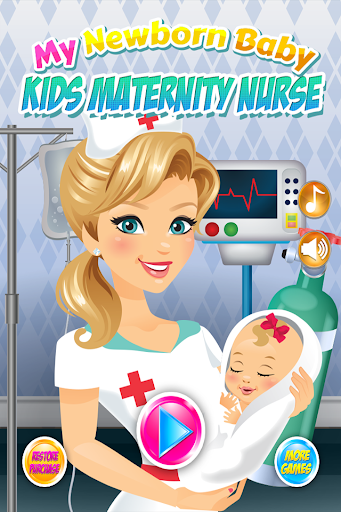 Newborn Baby Maternity Nurse