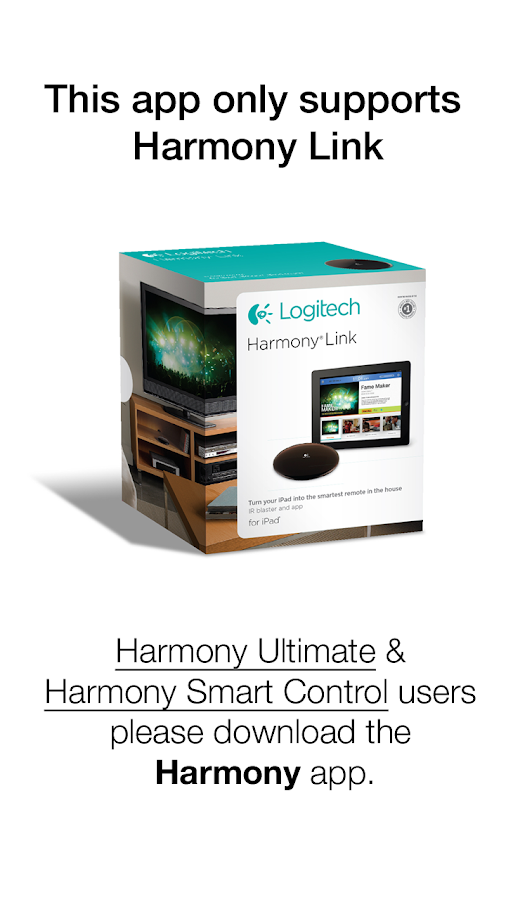 Harmony® Link- screenshot