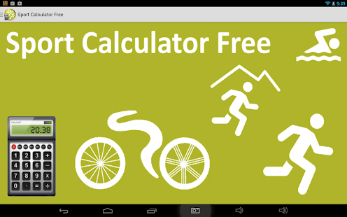 Sport Calculator Free - screenshot thumbnail
