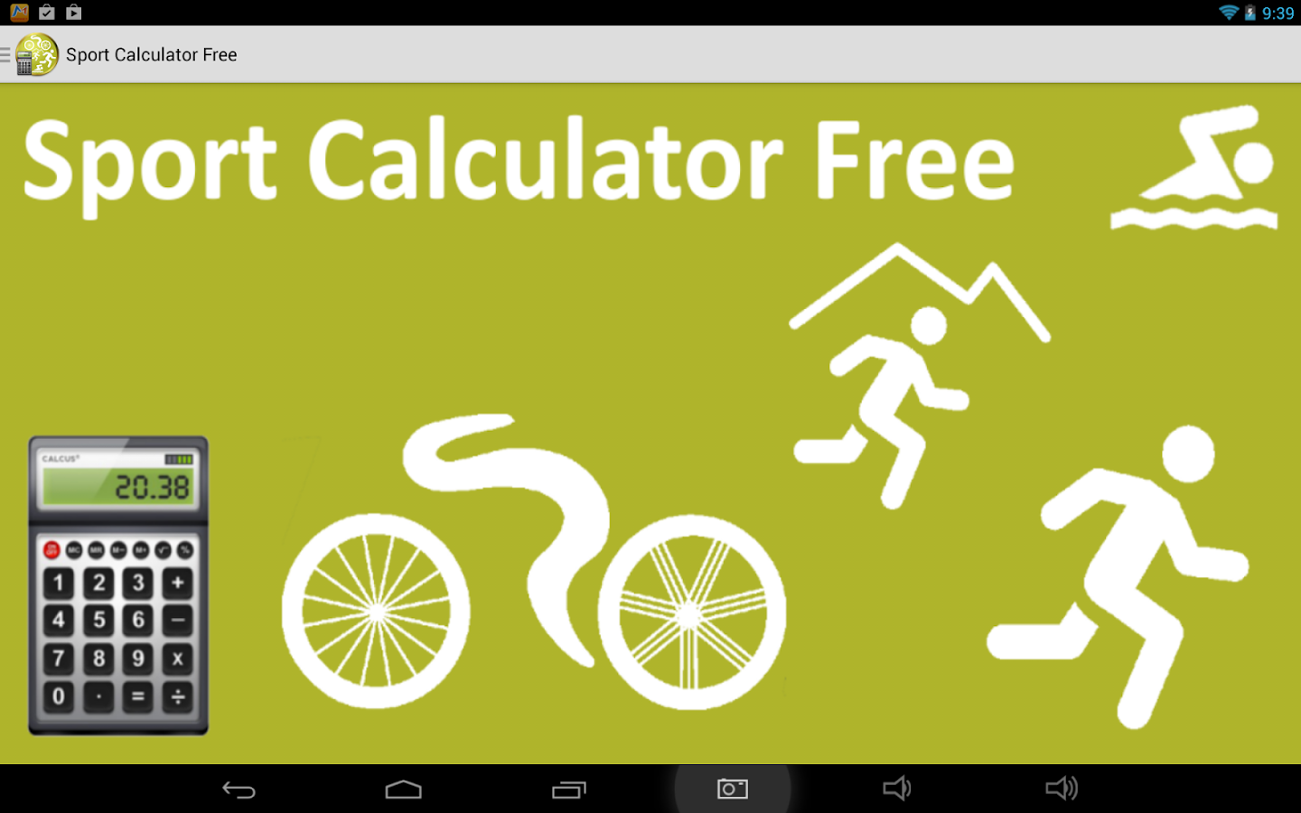 Sport Calculator Free- screenshot