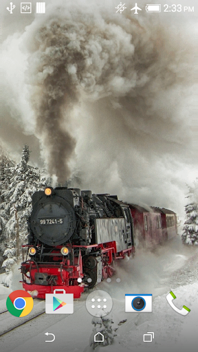 Steam train Live Wallpaper