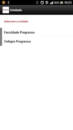 COLEGIO E FACULDADE PROGRESSO