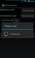 Screenshot of ROM Patcher