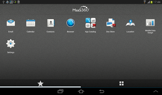 MaaS360 MDM for Android - screenshot thumbnail