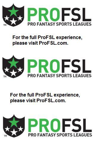 ProFSL - Pro Fantasy Sports - screenshot