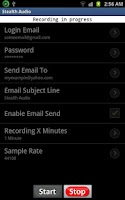Screenshot of Stealth Audio