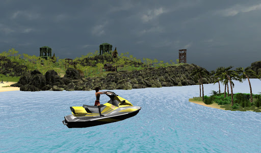 Turbo Patrol Boat GT Drive 3D