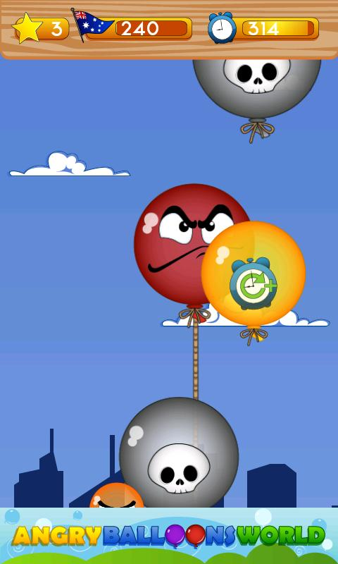 Angry Balloons World- screenshot
