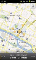 Screenshot of openVelib
