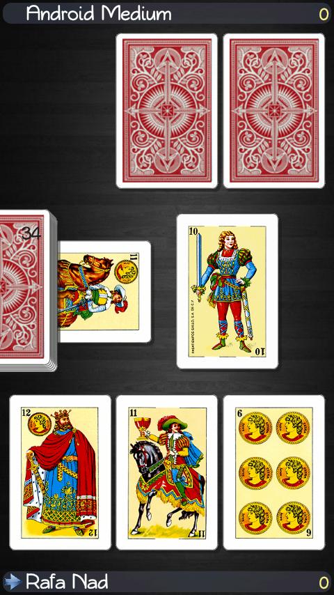 Briscas Card Game
