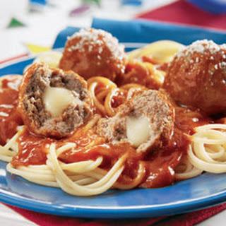 Spaghetti With Ground Beef And Ragu Recipes.
