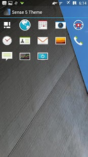 Sense 5 Theme (Icon Pack) - screenshot thumbnail