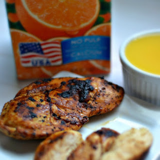 Tailgating Florida Style with Florida Orange Juice! Citrus Marinade #Recipe #OJTailgating #MC.