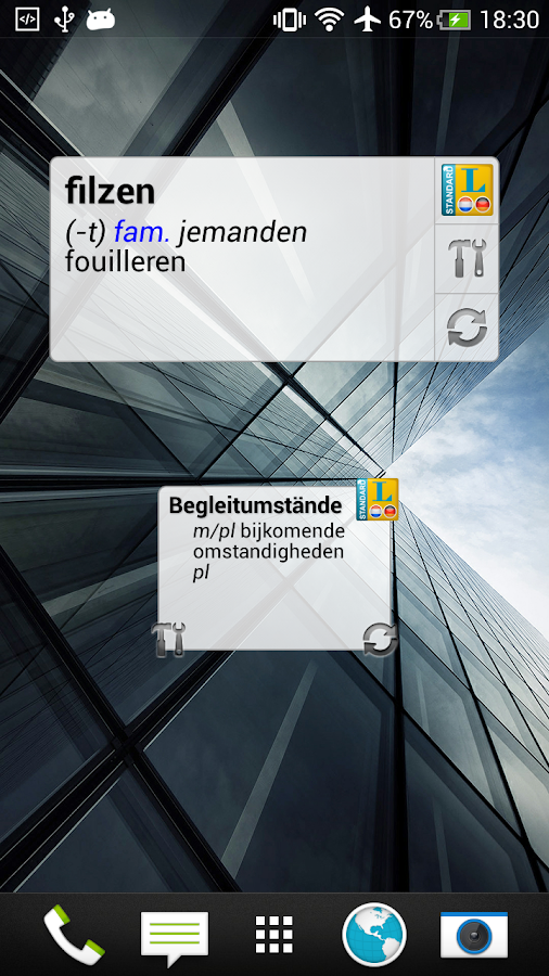 Dutch - German Translator Dictionary Standard- screenshot