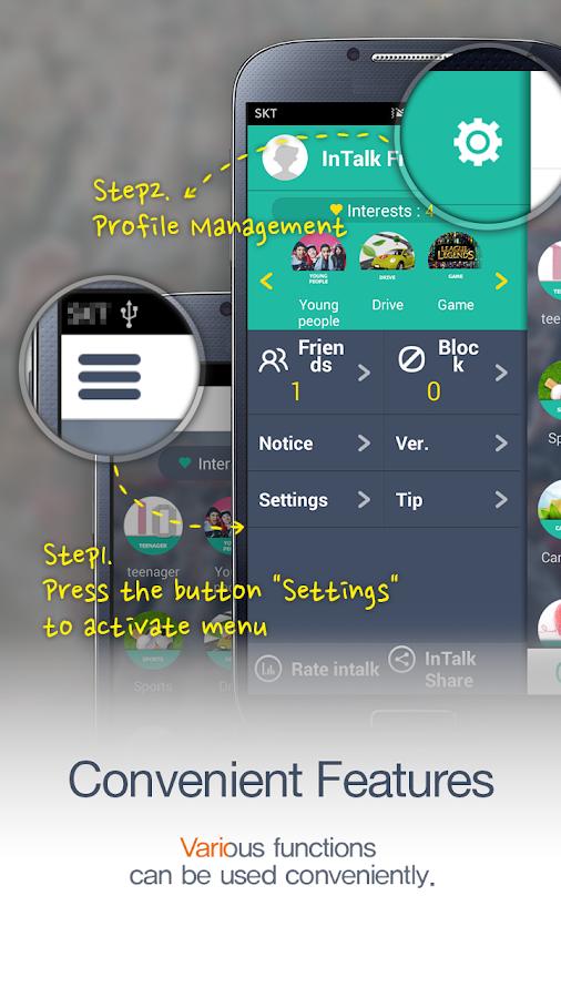 Korea random chat messenger  screenshot