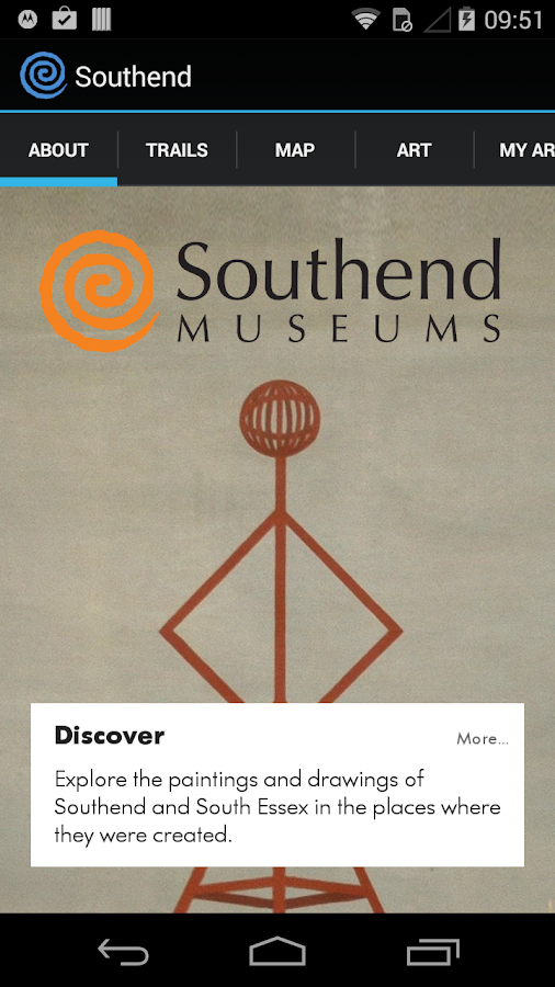 Southend Museums: art trail- screenshot