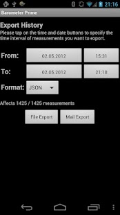 Barometer Prime - screenshot thumbnail