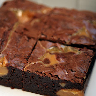 Dulce de Leche Brownie.