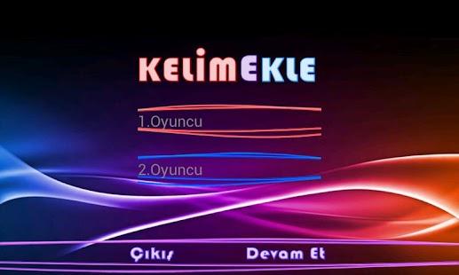 Kelime Ekle- screenshot thumbnail