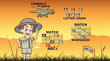 Screenshot of Dinosaur Park ABC Lite