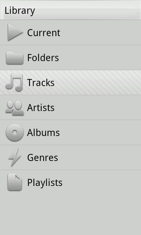 Xplay music player - screenshot