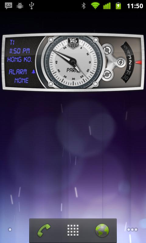TAG Heuer e-clock - screenshot