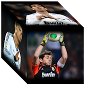 Real Madrid 3D Cube Wallpaper