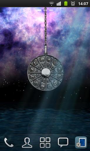 3D Zodiac Pendant Wallpaper