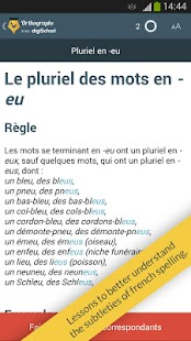French spelling by digischool- screenshot thumbnail