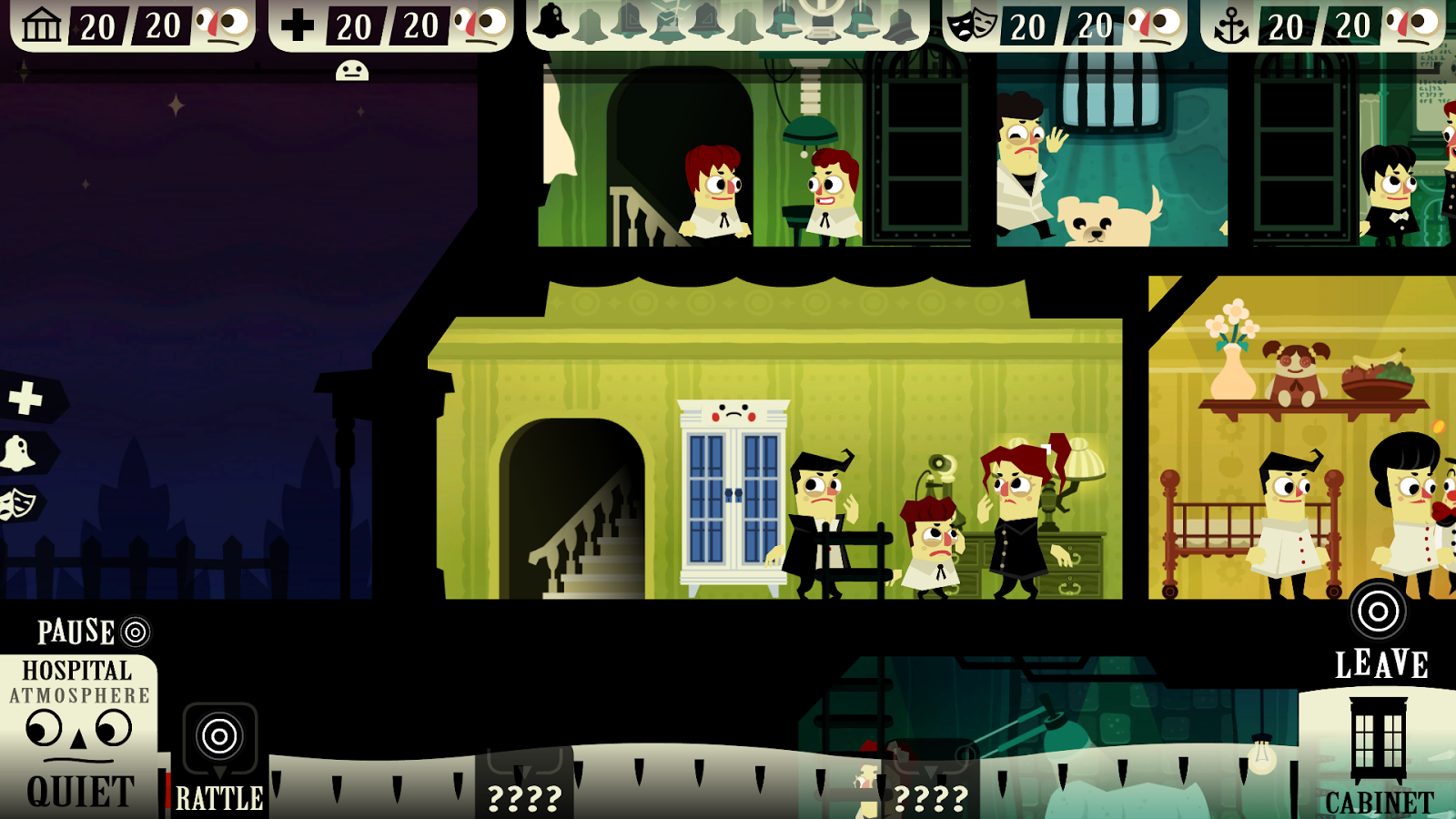 Haunt the House: Terrortown - screenshot