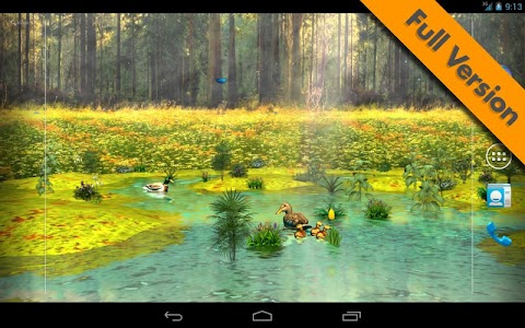 Ducks 3D Live Wallpaper FREE screenshot 18