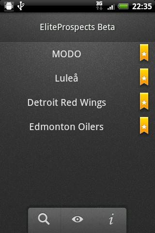 EliteProspects - screenshot