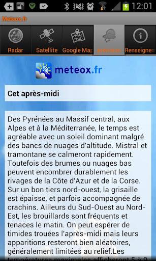 免費下載天氣APP|Meteox.fr app開箱文|APP開箱王