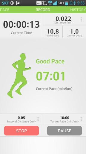 runpace,GPS運行慢跑