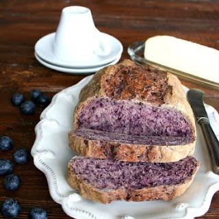 Artisan Blueberry Bread.