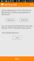 Screenshot of GameTime - Parental Controls