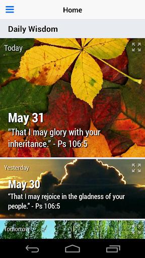 Daily Wisdom Devotional Lite