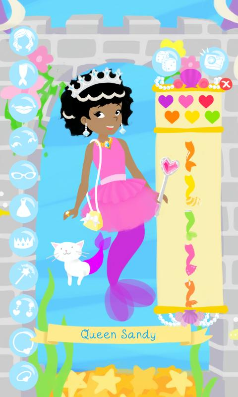 Mermaid Fashion Show Dress Up- screenshot