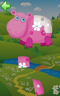 Animal puzzle for kids HD- screenshot thumbnail