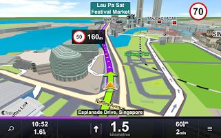 Screenshot of Sygic: Voucher Edition