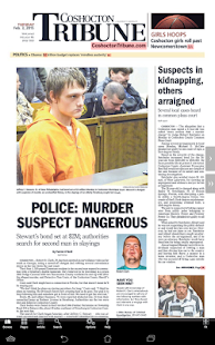Coshocton Tribune Print- screenshot thumbnail