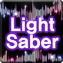 Light Saber (like starwars) logo