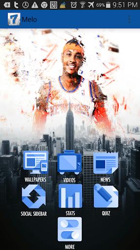 Carmelo Anthony Fan App