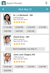 ZocDoc - Book a Doctor Online! - screenshot thumbnail