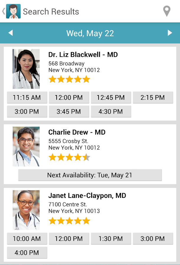 ZocDoc - Book a Doctor Online!- screenshot