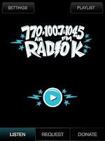 Screenshot of Radio K - KUOM