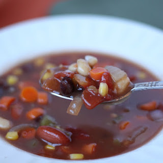 Southwestern Three Bean Soup.