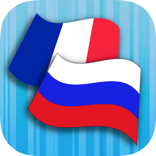 Russian French Translator Icon